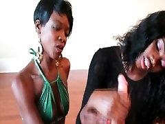 Two smoll girls xxx videos chicks jerking a white dick