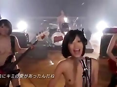 Beautiful Japanese Girl Band