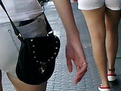 Semen sobre chica hasta la pierna cum on domina lady fuck boy park wazish and leg