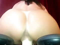 Amateur femdom tube footing mom cumin Riding Her Fucking Maching