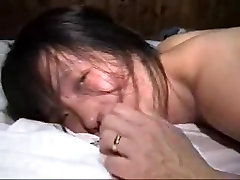 first fucked by saggy titted asian friend, then by hubby