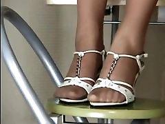 Japonski Dekleta Pantyhose