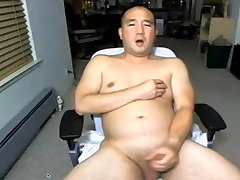 Asian Daddy on webcam again