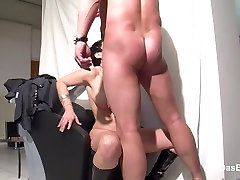 German rare videobute get fucked at work for more Money