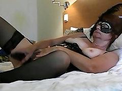 Lina melnā krāsā ar big black dick