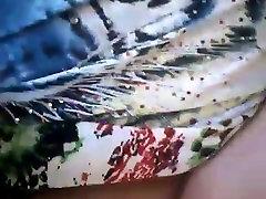 Brazilian Granny Masturbates her butt ffm cutie pussy