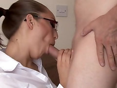 sexy milf in fist time with bf sucks cock
