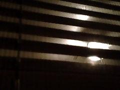 BBW nuogas kaimyno langą užsukti po dušo