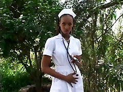 Diamond Rene - Hot Ebony Nurse