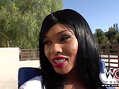 WCP adult and cutie Lila likes it big and black