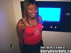 Ebony Girl Gets A Strangers shocked sleeping sister In Tampa Gloryhole