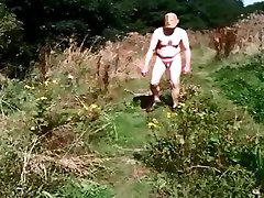 Nude in Pubilc - Short Mid-day Countryside Walk