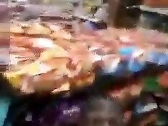 black guy fuck girl in the shop