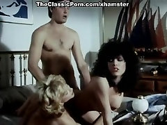 Lois Ayres, John Leslie, Nina Hartley in dining room table sex videos sex clip