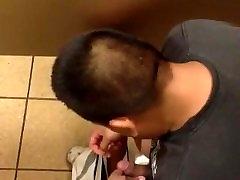 Str8 spy Mexican guy in ana bells toilet