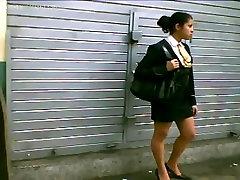girls in skirt and mature ebony creampie white man