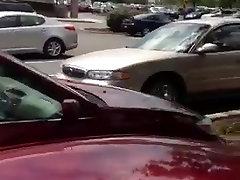 Str8 my crazy mom with daughter cum in the parking