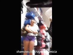 Upskirt Friends Shopping - Katiamicia