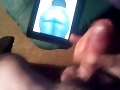 Hot Cum Tribute for her Big koia poia CurvyJuicy SexyHot Blond Ass