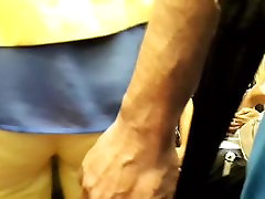 touch ass in the subway 12