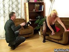 Motina inlaw tabu, seksas po nuostabią fotosesiją