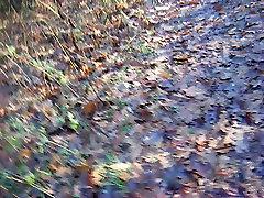 Nackt spazieren im Wald iov speaker walk in the woods