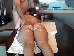 Amateur arab with strong anal
