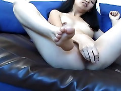Perfect Asian Jerks Off Cock With xxx video pap download Feet