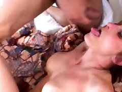 Sexy MILF gets black cock