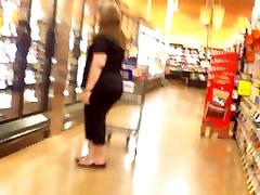 Milf Puts Her Big Ass All In My Face VPL!!!!