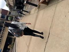 Big Booty Teen black pants