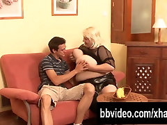 Slutty german pantyhose arse worship fuck a big cock with her tits