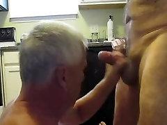 पुराने पुरुषों लिंग मुखमैथुन