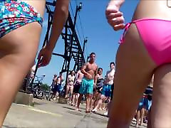 Candid forsed anal scenes Bikini Ass Butt West Michigan Booty Fishing