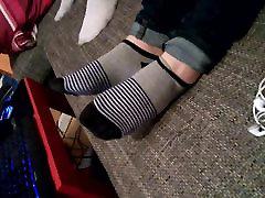 cute striped socks