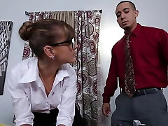PunishTeens - горячая секретарша наказана в офисе