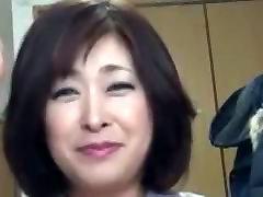 mom milf at kitchen Lihav Küps Creampie Sayo Akagi 51years