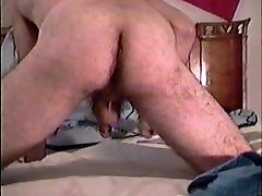 Hot guy cums on his cowboy boots