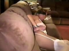 White slut used by brunette by cfnms man