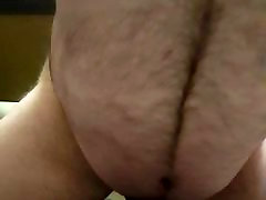 Riding view from in front with cum