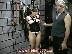 Kinky Joleen gets her nipples punished