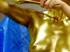 Japonski Erotični Zlato Plesalka