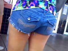 NICE younger teens ga IN SHORTS