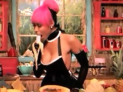 Nicki minaj trying hard to learn step 277 gagging video