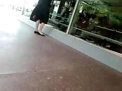 Spy hot cruel school girls woman in white pantyhose