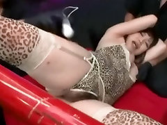 Asian Takes A Huge Cum Load