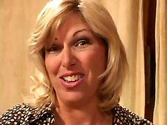 Casting Hot Blonde kristina was satisfied - bilnd husband Fuck