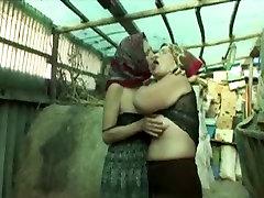 Grannies Have Lesbian big both asian In A Horse Barn