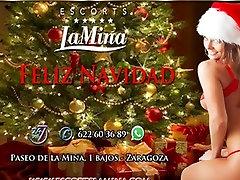 Modelis Zaragoza Feliz navidad