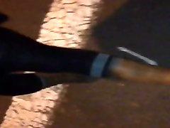 לראות דרך שחור עם חותלות גלוי חוטיני הציבור